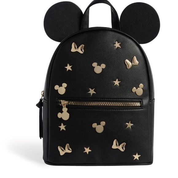 Disney Bags | Mickey Mouse Gold Embellished
